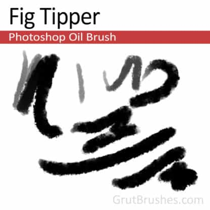 Fig Tipper - Photoshop Oil Brush