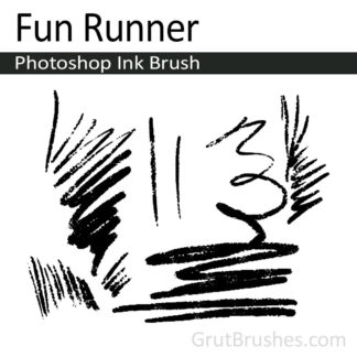 Fun Runner - Photoshop Ink Brush