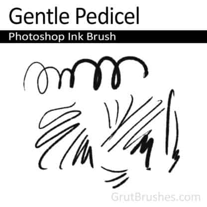 Gentle Pedicel - Gentle Pedicel Ink Brush
