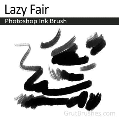Lazy Fair - Photoshop Ink Brush