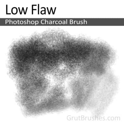 Low Flaw - Photoshop Charcoal Brush