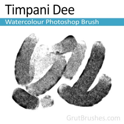 Timpani Dee - Photoshop Watercolour Brush