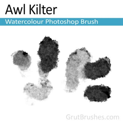 Awl Kilter - Photoshop Watercolor Brush