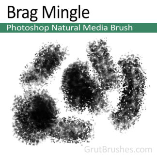 Brag Mingle - Photoshop Natural Media Brush