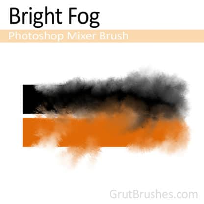 Bright Fog - Photoshop Mixer Brush