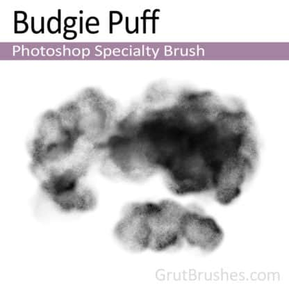 Budgie Puff - Photoshop Specialty brush