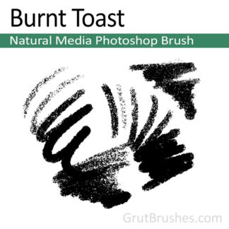 Burnt Toast - Natural Media Brush