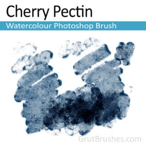 Cherry Pectin - Photoshop Watercolour Brush