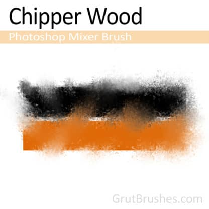 Chipper Wood - Photoshop Mixer Brush