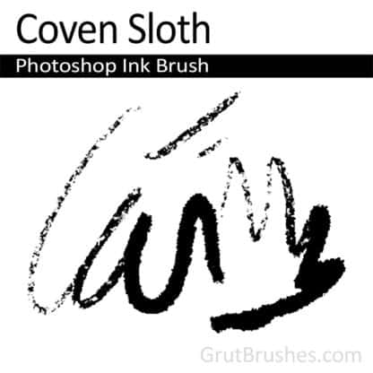 Coven Sloth - Photoshop Ink Brush