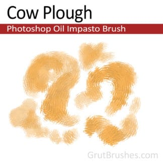 Cow Plough - Photoshop Impasto Oil Brush