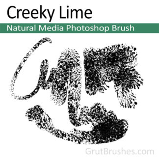 Creeky Lime - Photoshop Natural Media Brush