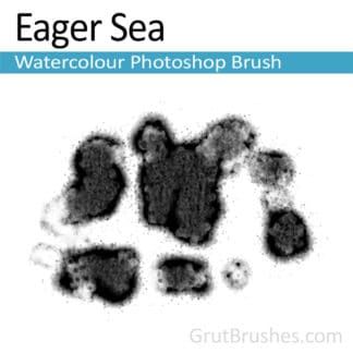 Eager Sea - Photoshop Watercolor Brush