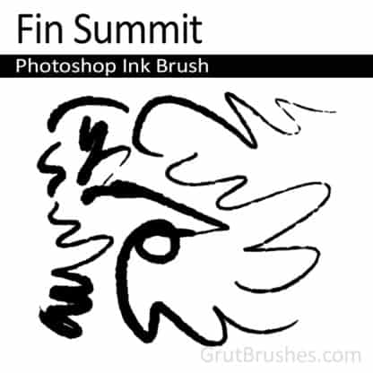 Fin Summit - Photoshop Ink Brush