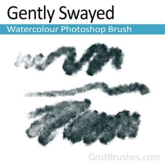 Gently Swayed - Photoshop Watercolor Brush