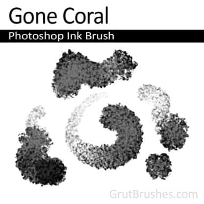 Gone Coral - Photoshop Ink Brush