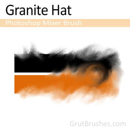 Granite Hat - Photoshop Mixer Brush