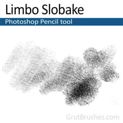 Photoshop Pencil Brush for digital artists 'Limbo Slobake'