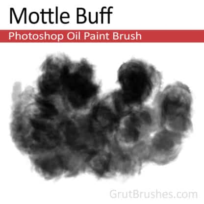 Mottle Buff - Photoshop Oil Brush