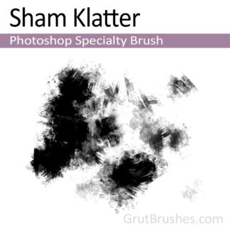Photoshop Specialty Brush for digital artists 'Sham Klatter'