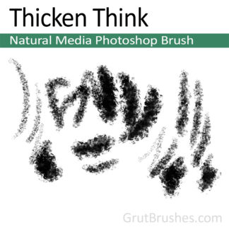 Thicken Think - Photoshop Natural Media Brush