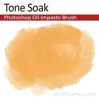 Tone Soak - Impasto Oil Photoshop Brush