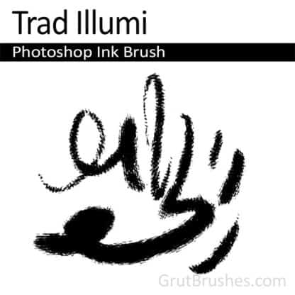 Trad Illumi - Photoshop Ink Brush